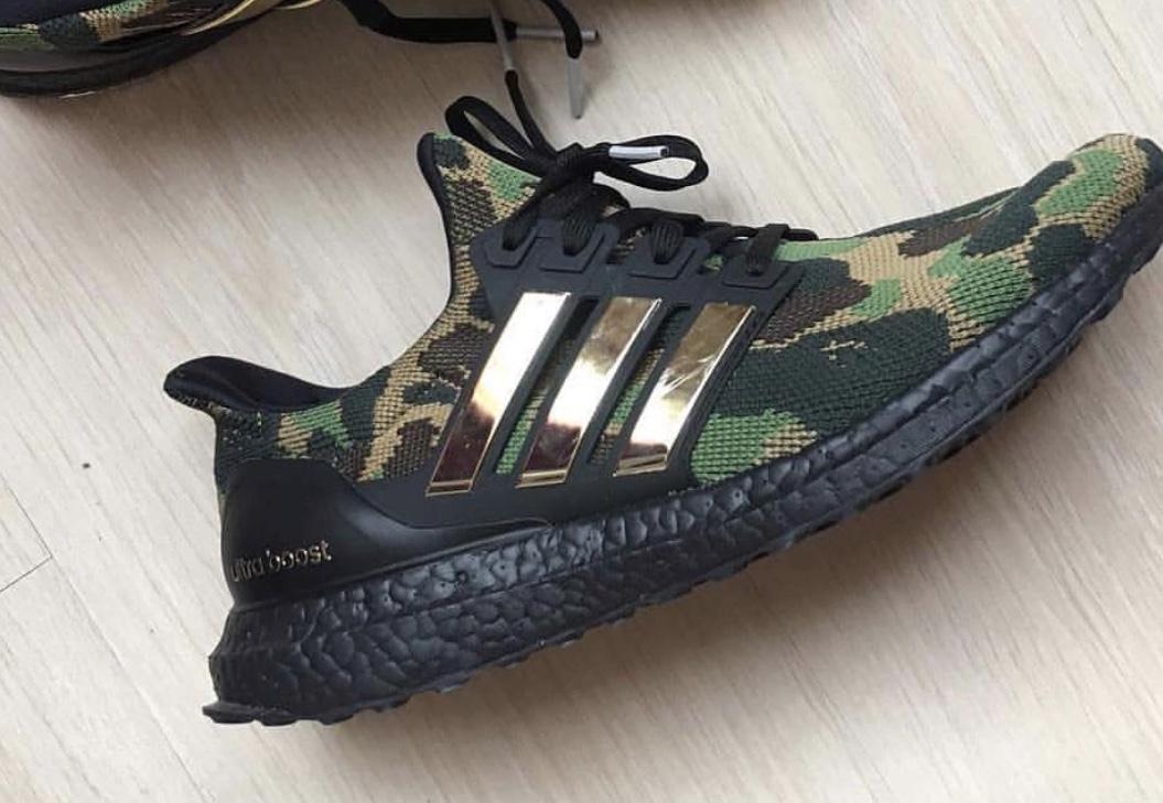 BAPE x Adidas Ultraboost sneakerbox.hu blog
