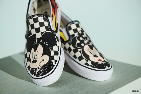 Mickey Vans slip-on