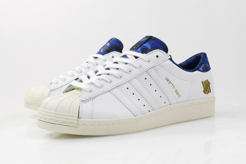 BAPE x UNDFTD Adidas Superstar 80s
