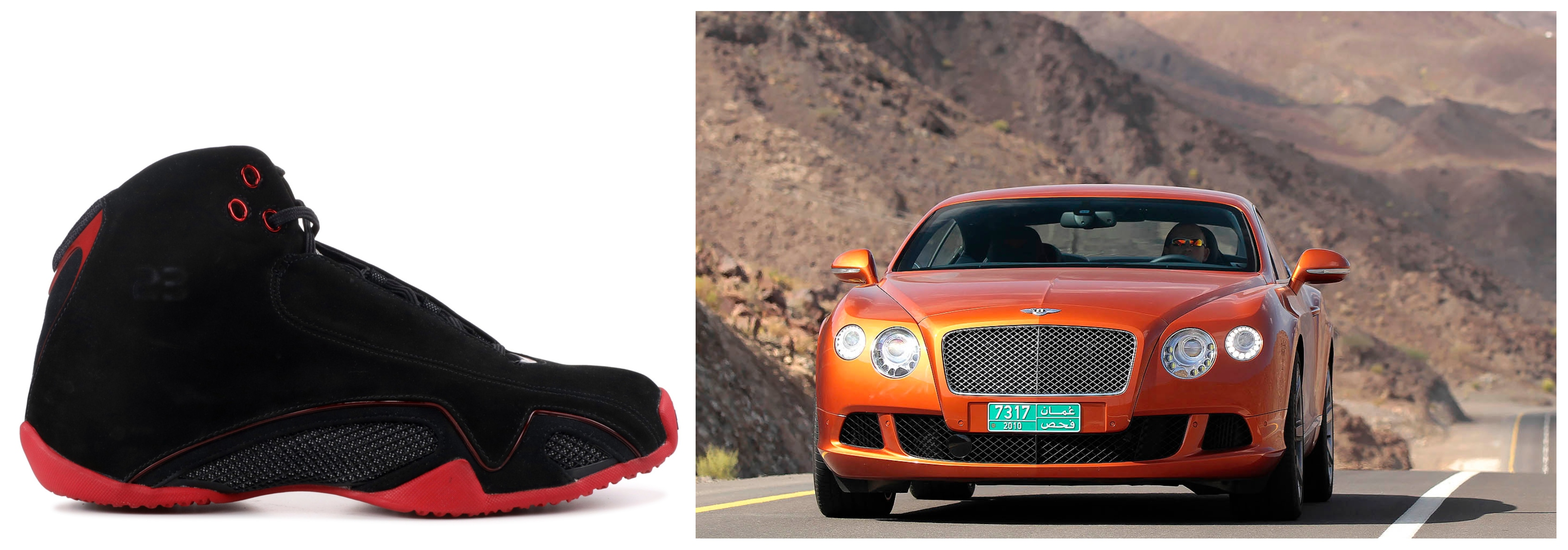 Air Jordan 21 - Bentley Continental GT Coupe