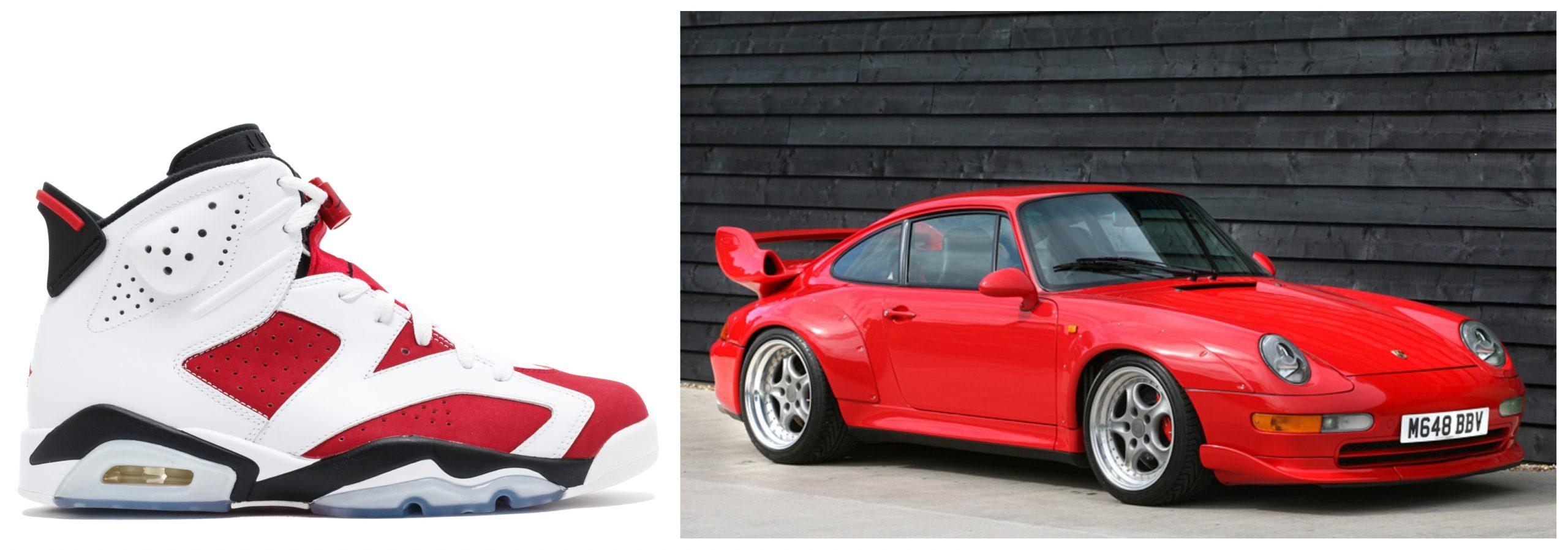Air Jordan 6 - Porsche 911 GT