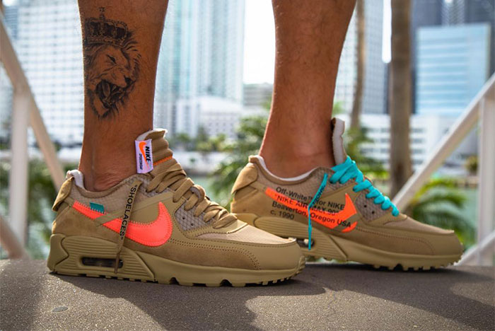 "Nike X Off-White Air Max 90 ""Desert Ore"""