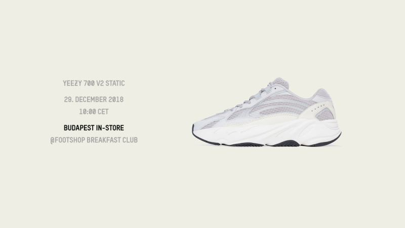 Footshop Breakfast Club pres. // adidas YEEZY 700 v2 Static