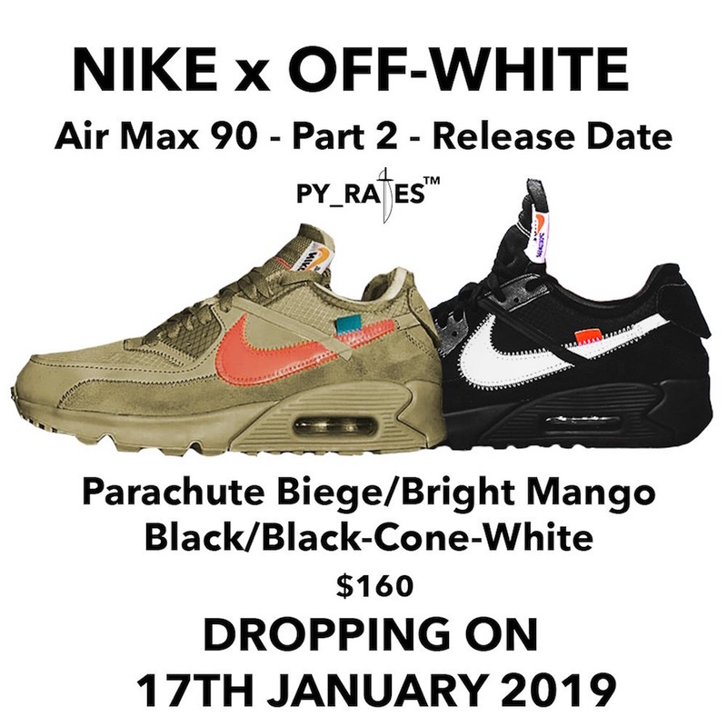Nike X Off-White Air Max 90-ek