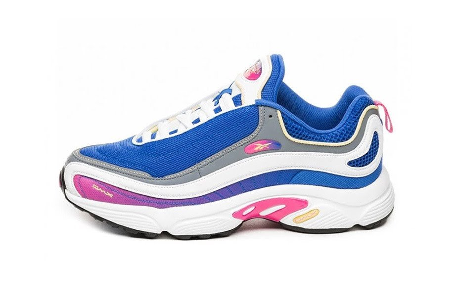 "Crushed Cobalt/Yellow/White - Reebok Daytona DMX ""MU Pack"""