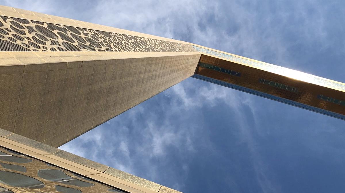 A Dubai Frame - képkeret a város múltjának, jelenének és jövőjének