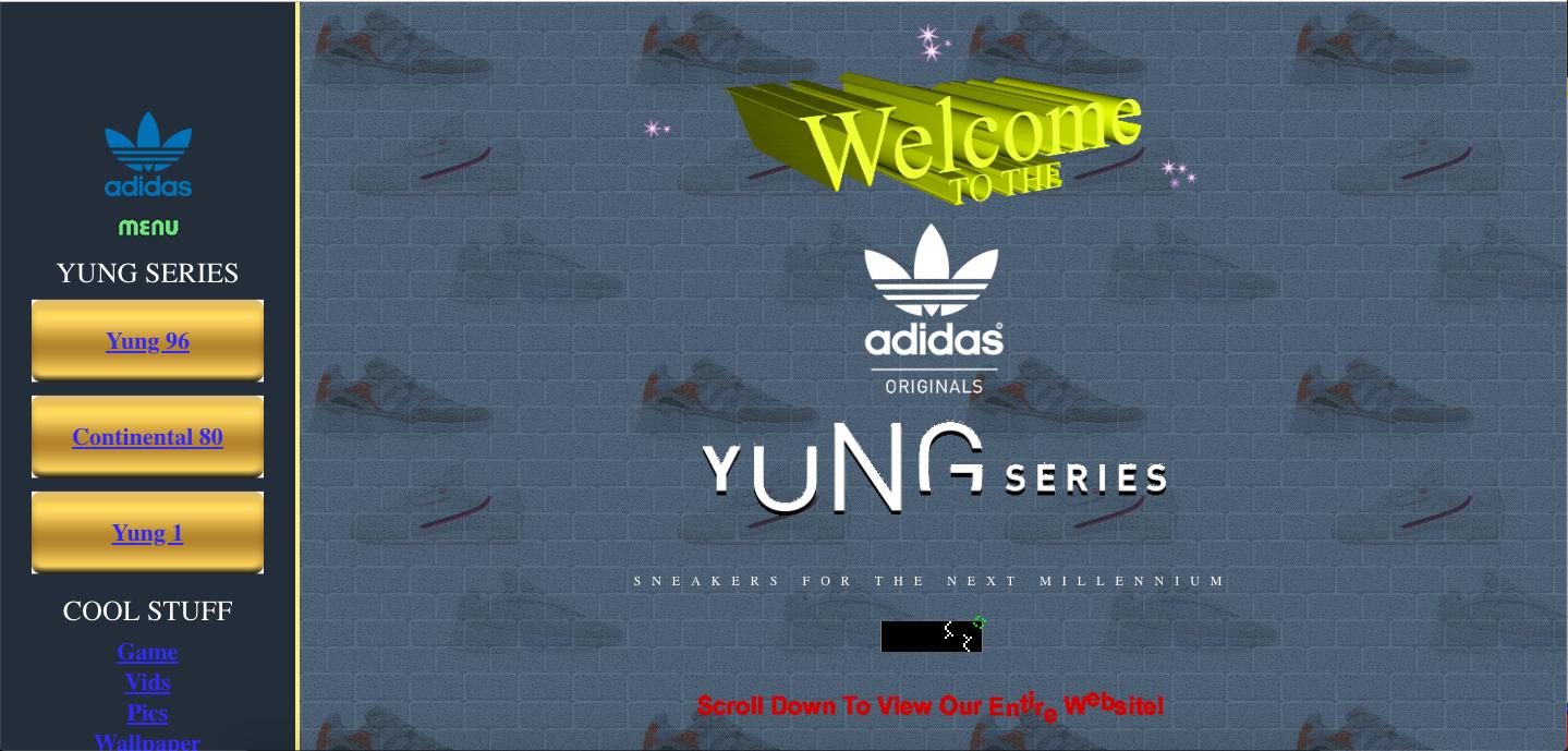 adidas iternetes világháló