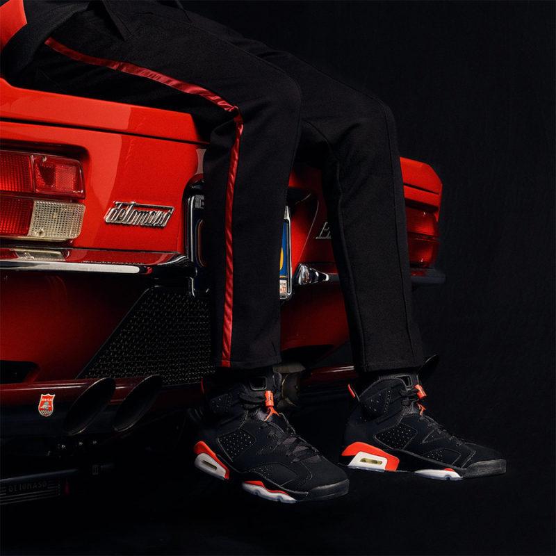 Nike Air Jordan 6 Infrared - a várva várt visszatérés