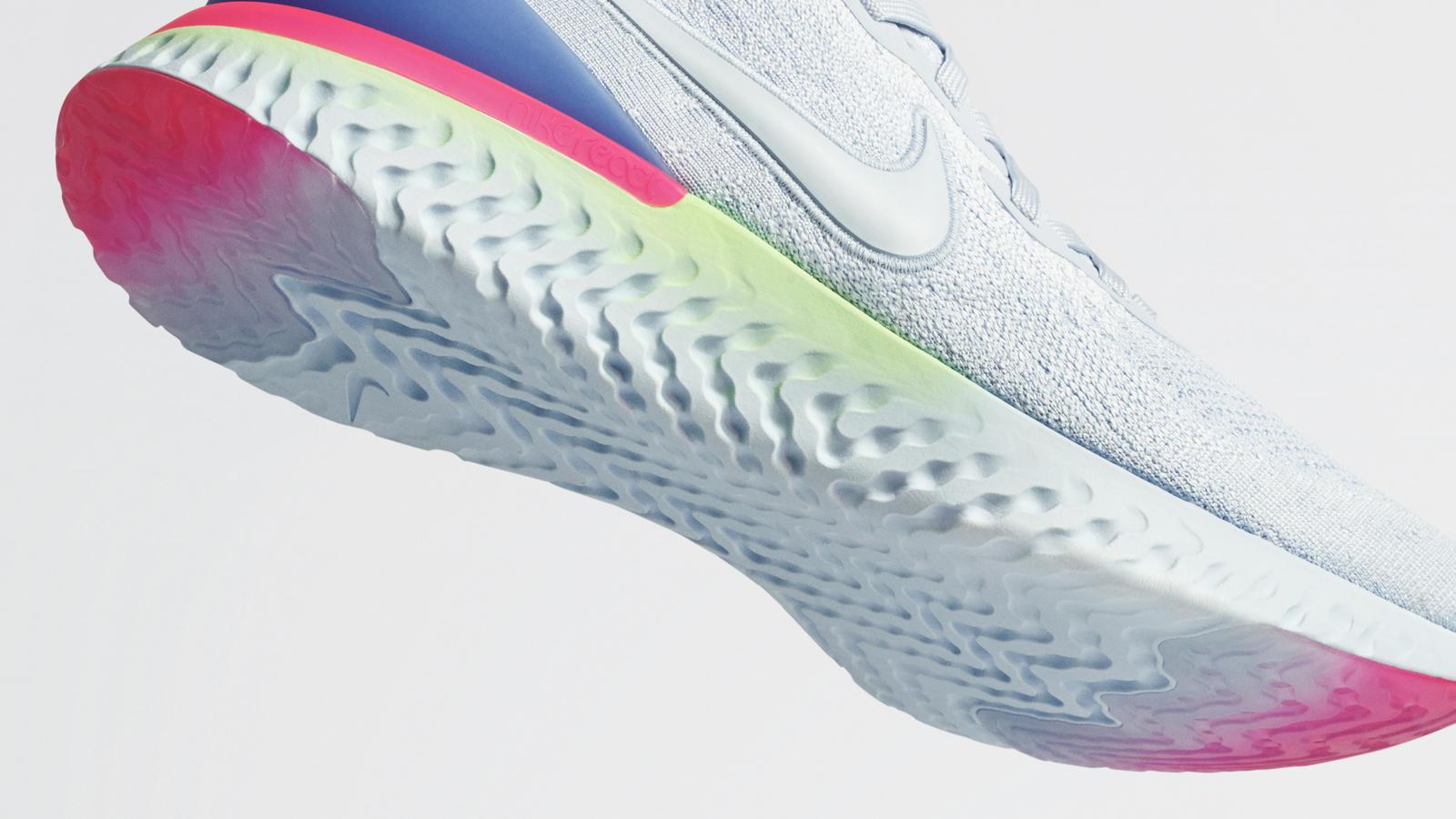 a195ce6297 Nike Epic React Flyknit 2.0 - modern technológia, retró stílus ...