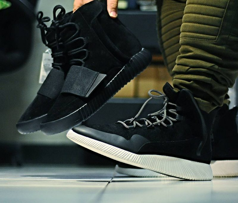 Lábon látható a Zara cipője, mellette az ihletadó