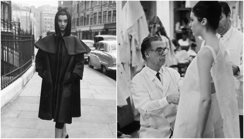 Képek a Balenciaga gazdag történelméből
