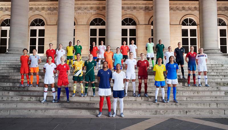 Női foci világbajnokság Nike mezei