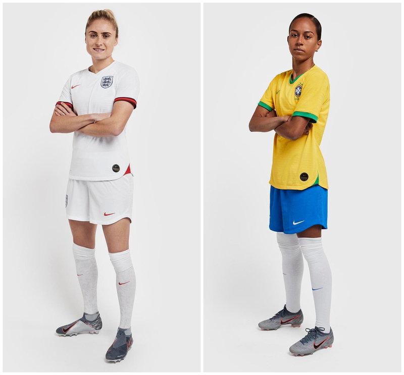 Az angol és a brazil válogatott ebben fog pályára lépni