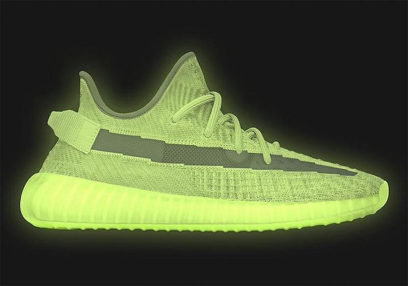 "Adidas Yeezy Boost 350 V2 ""Glow in the dark"""