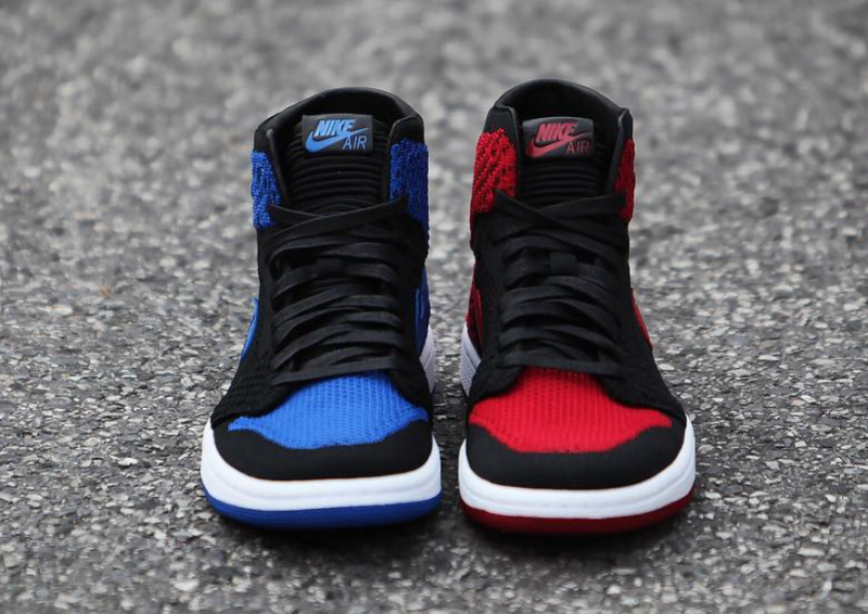 Air Jordan 1 Flyknit Royal és Banned