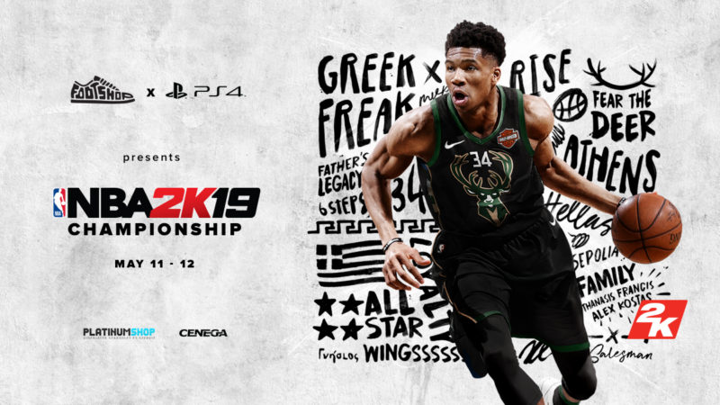 Footshop X PS4 presents // NBA2K19 Championship
