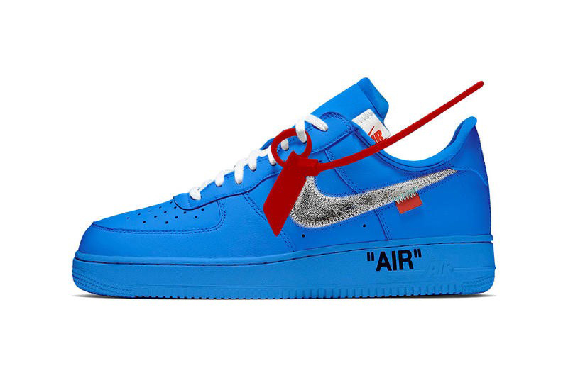 "Off-White x Nike Air Force 1 Low ""Blue"""