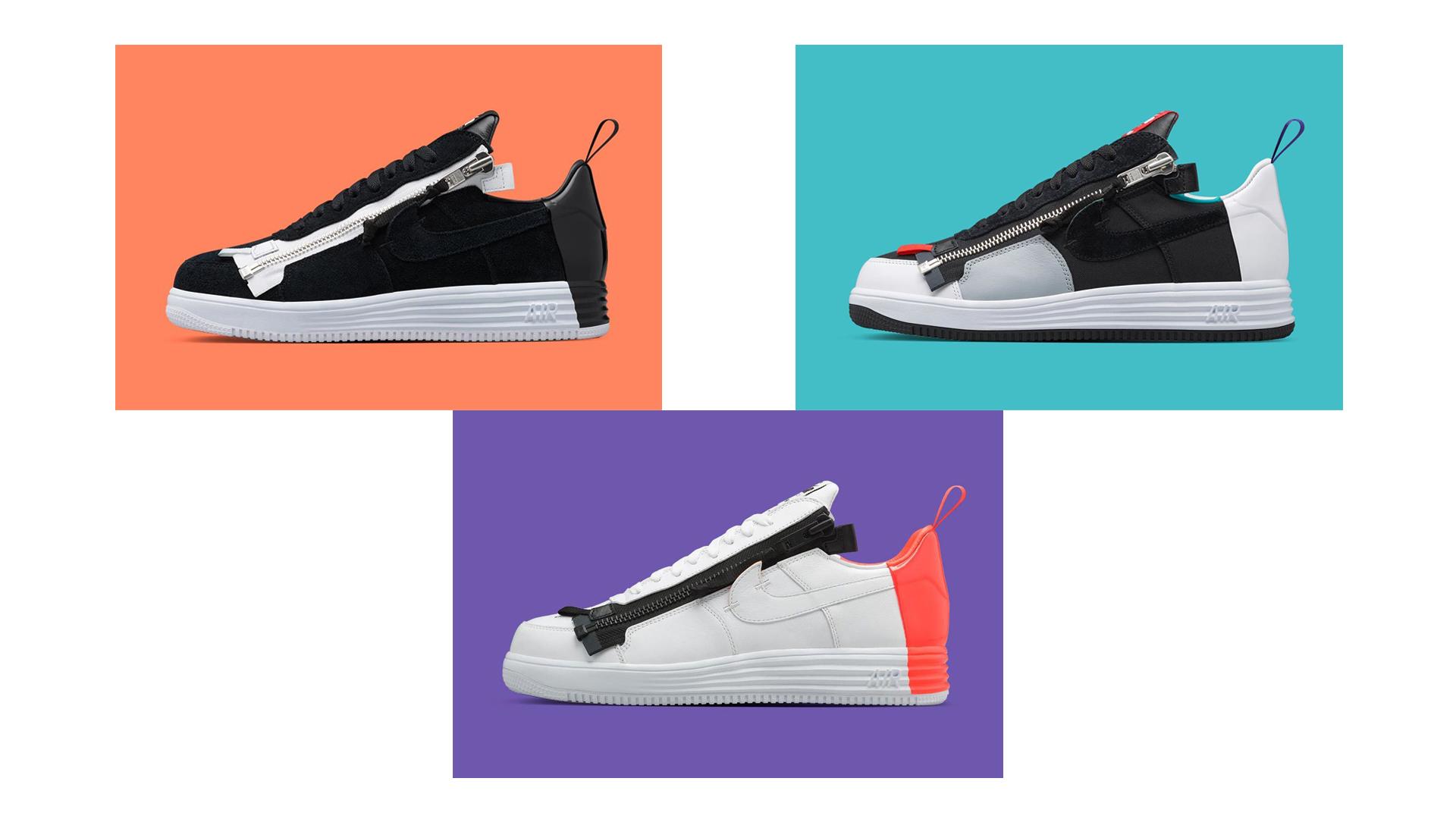 ACRONYM x Nike Lunar Force 1 // Kép: SneakerFreaker