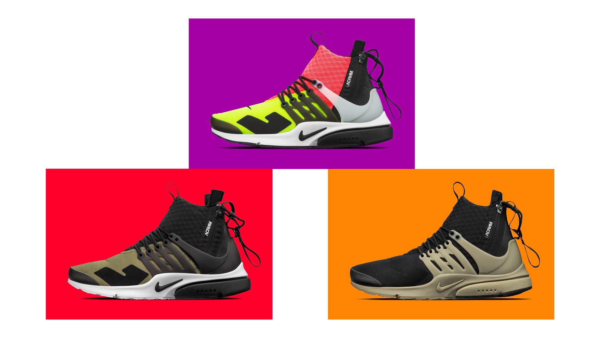 ACRONYM x Nike Air Presto // Kép: SneakerFreaker
