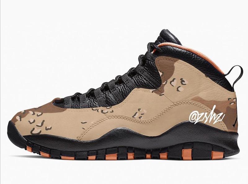 "Air Jordan 10 ""Desert Camo"""