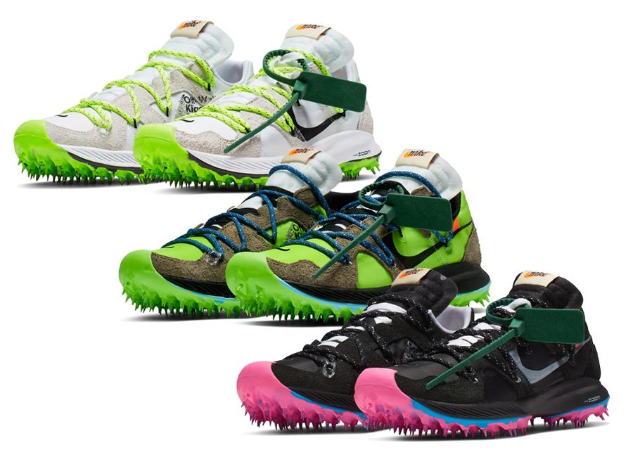 Nike X Off-White Zoom Terra Kiger 5 - Az extrém futócipő