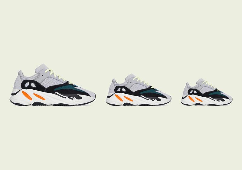 Adidas Yeezy Boost 700 Waverunner Full Family sneaker release