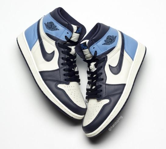 Sneaker release: Air Jordan 1 Retro High OG Obsidian University Blue