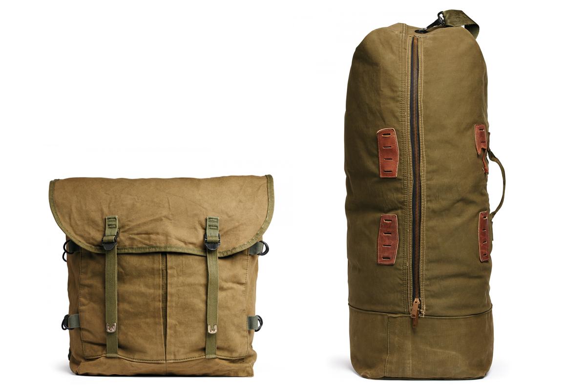 Az első Eastern Canvas Products Inc. táskák a hadsereg számára készültek