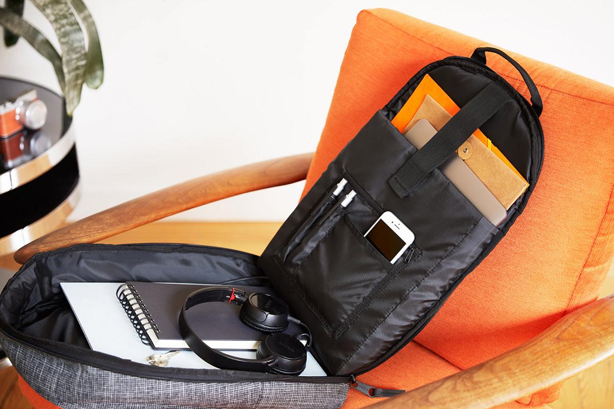A jó hátizsák sok tárolózsebbel rendelkezik