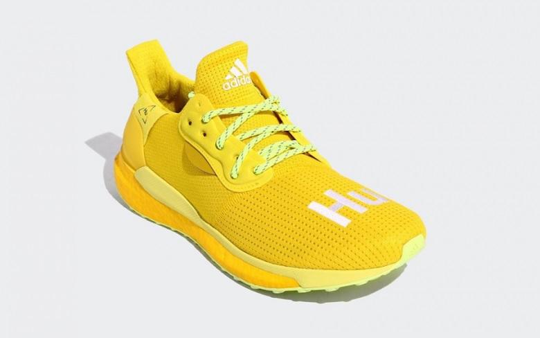 Pharrell X Adidas Solar Hu Glide Bright Yellow