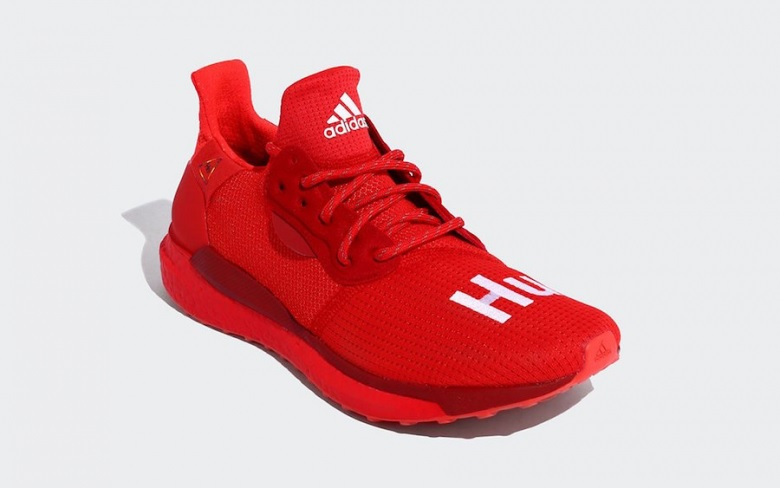 Pharrell X Adidas Solar Hu Glide Power Red