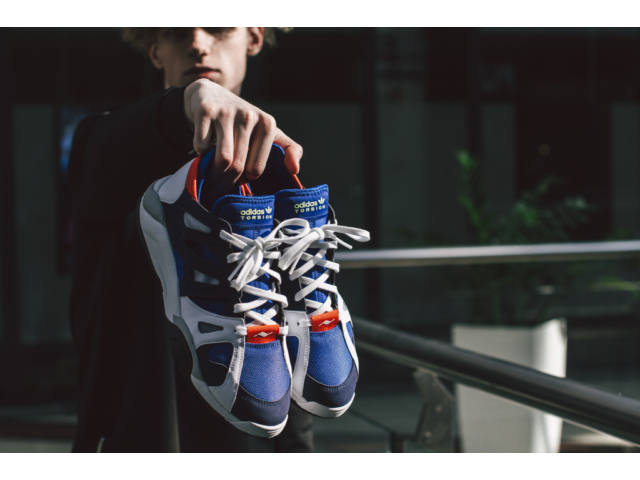 adidas Dimension Low a három csíkos chunky sneaker