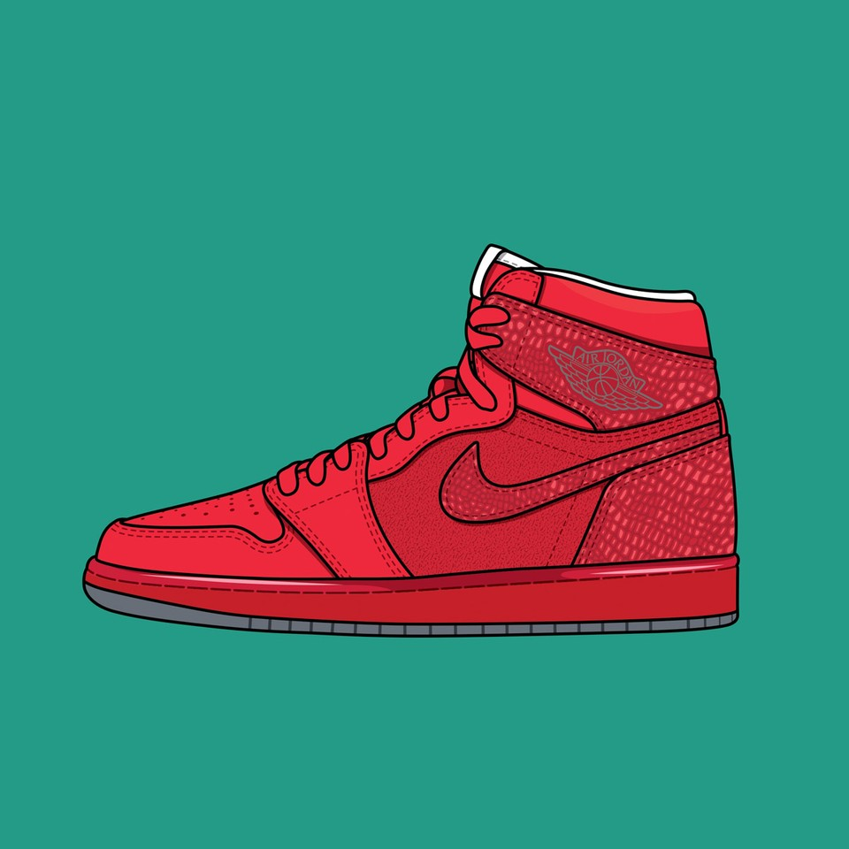 "Nike Air Jordan 1 ""Legends of Summer Red"""