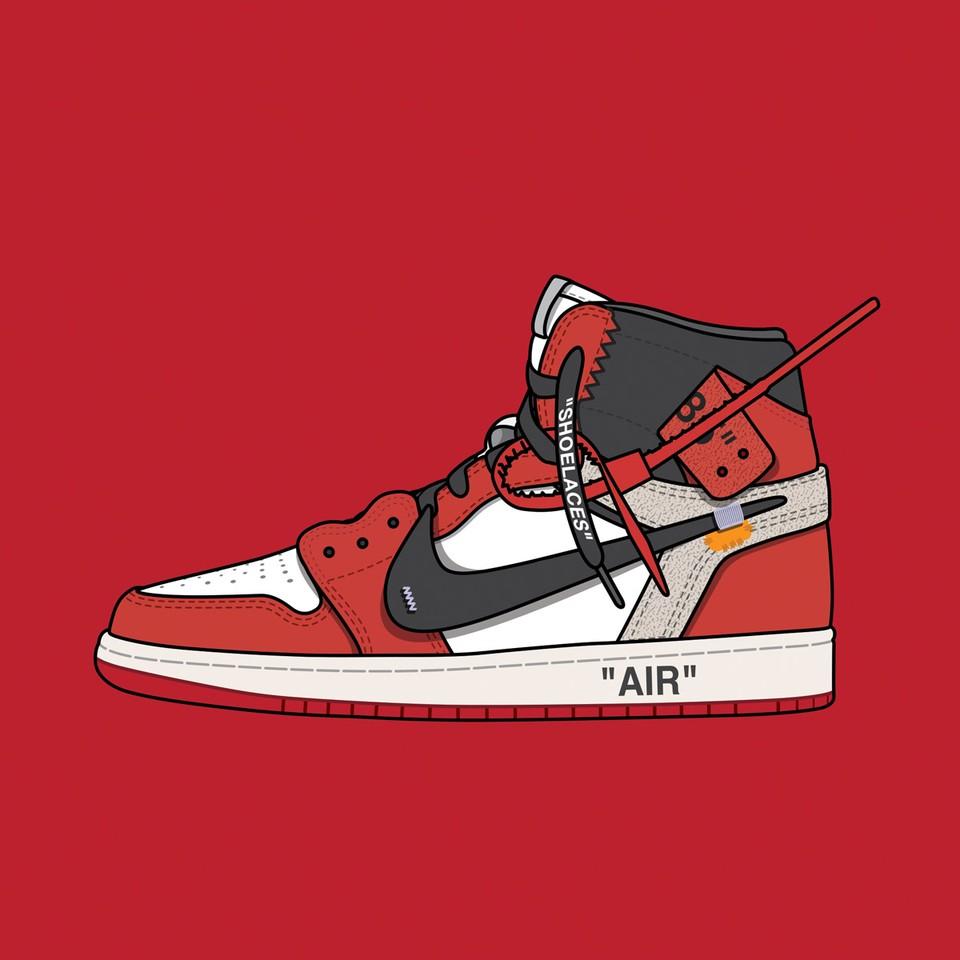 "Off White™ Nike Air Jordan 1 ""Chicago"""