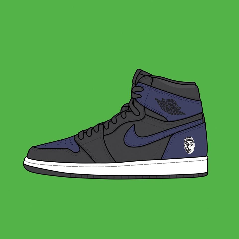 """Spike Lee x Nike Air Jordan 1 """"Fort Greene"""""""