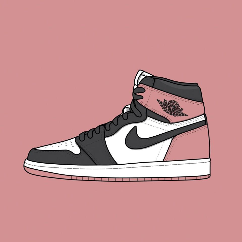 """Nike Air Jordan 1 """"Rust Pink"""""""