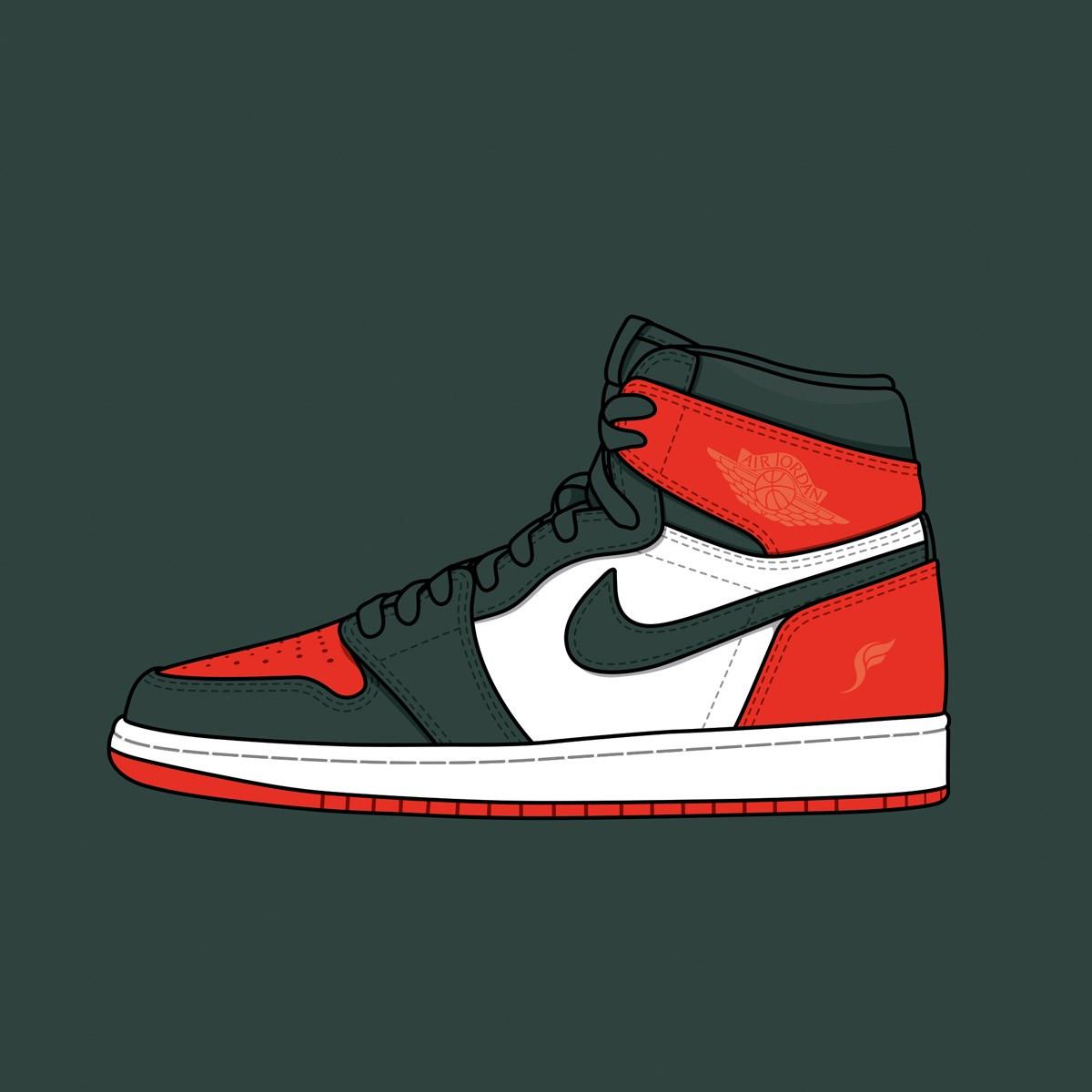 "Solefly x Nike Air Jordan 1 ""Art Basel"""