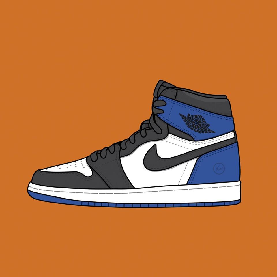 fragment x Nike Air Jordan 1