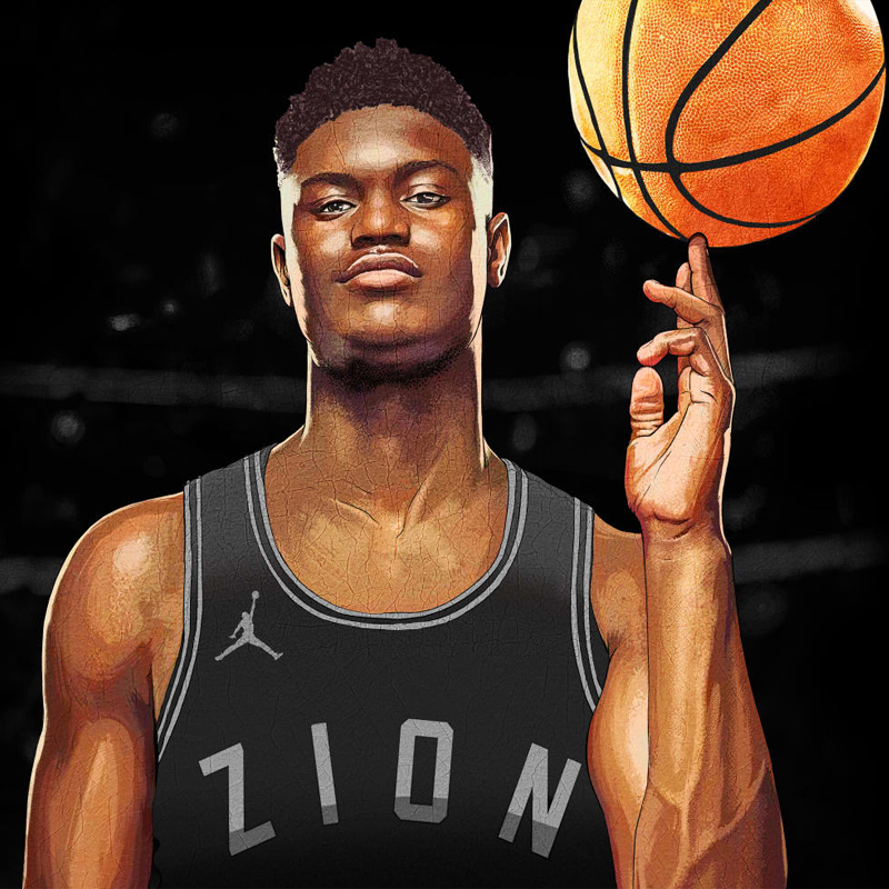 Zion Williamson x Jordan brand