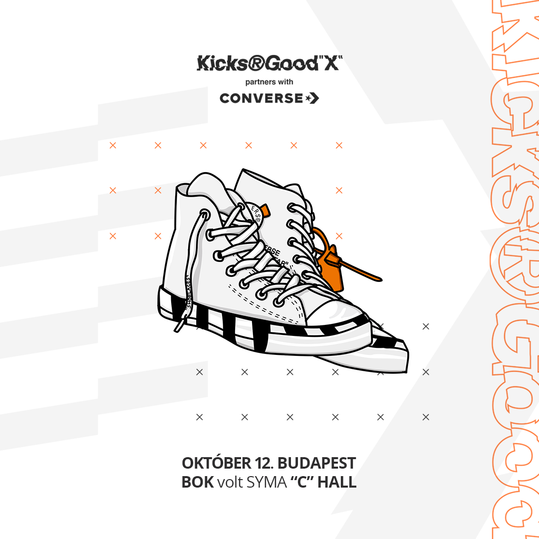 Kicks R Good X - partners with Converse