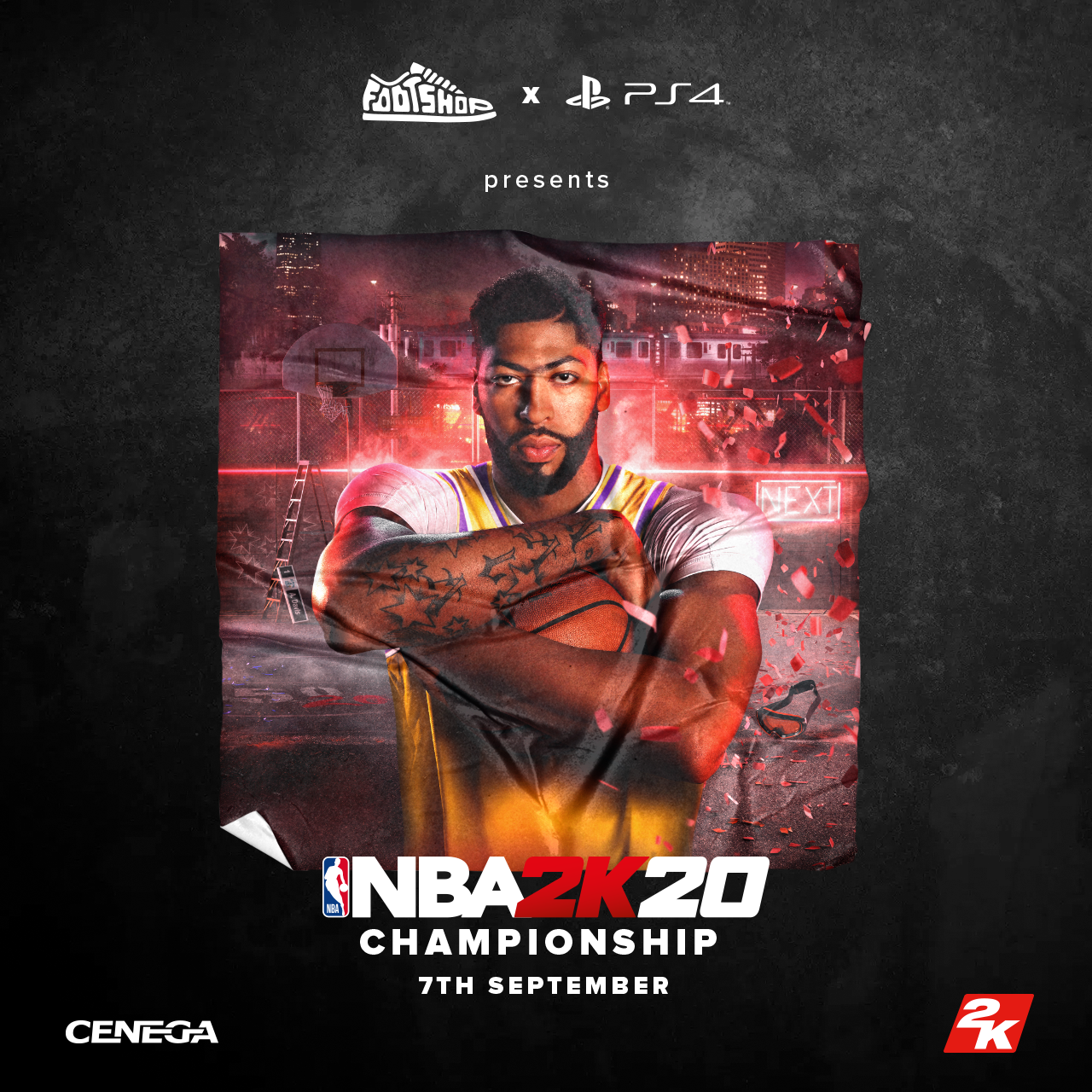 Footshop x PS4 x Cenega presents: NBA2K20 Championship & Launch