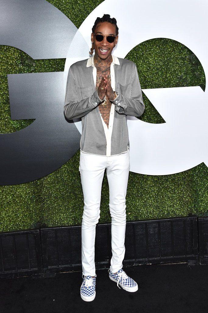 Wiz Khalifa on fire!