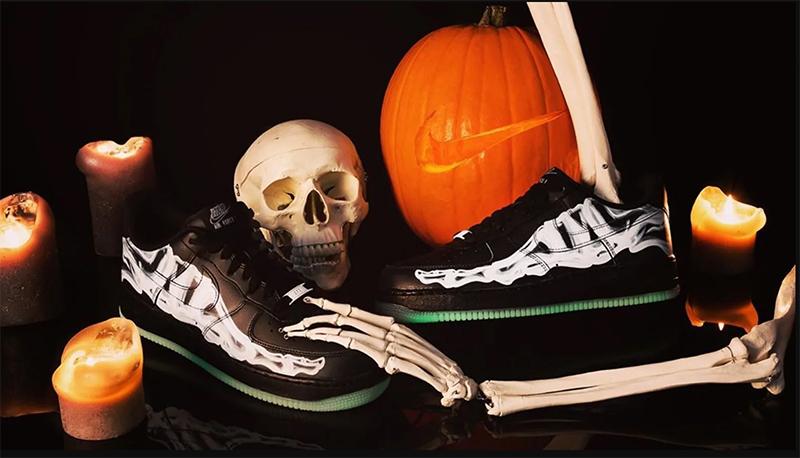 """Nike Air Force 1 """"Skeleton"""" - a fekerte színállás"""