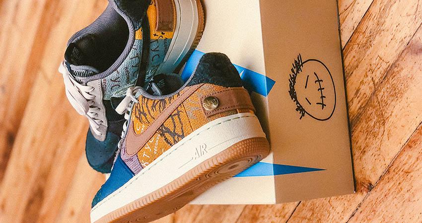 Air Force 1 Low Travis Scott Cactus Jack sneakerbox.hu blog