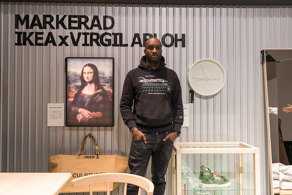 IKEA x Virgil Abloh Markerad lakberendezési cuccok