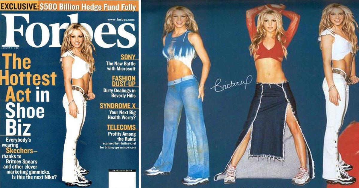 Britney Spears és a Skechers