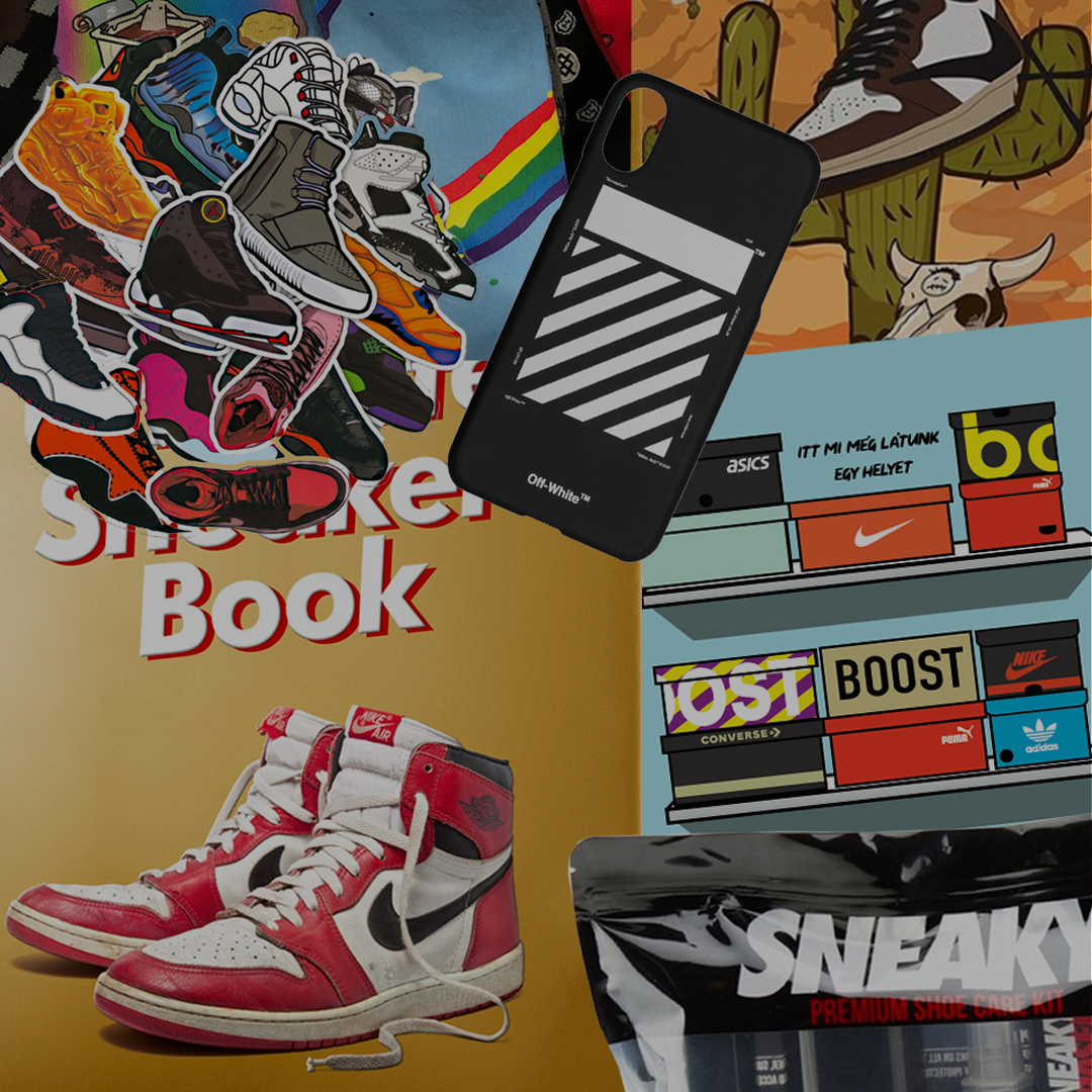 Ajándék ötletek sneakerhead és hypebeast srácoknak, csajoknak
