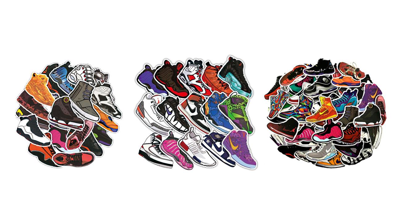 Sneaker matricák
