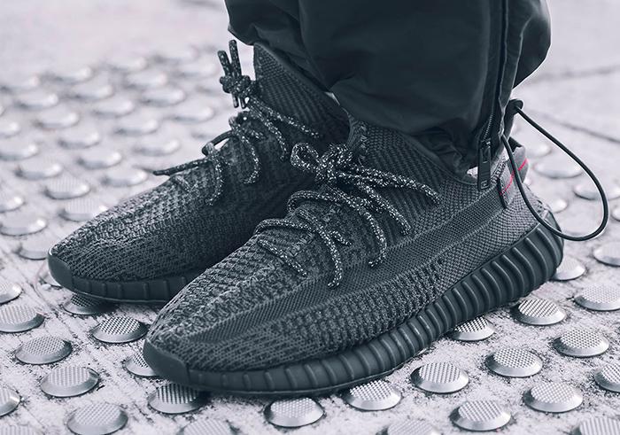 Black on feet