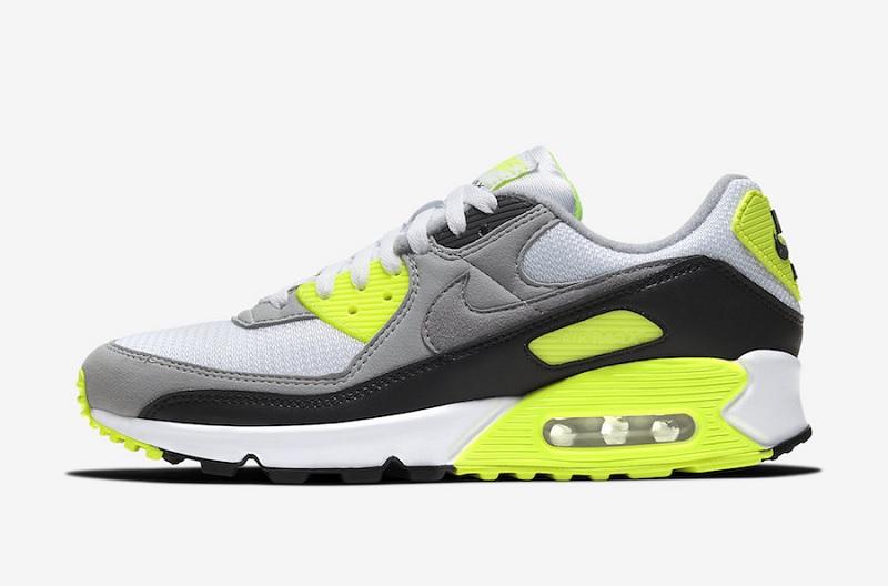 Sneaker Release Dátumok: Nike Air Max 90 OG Volt